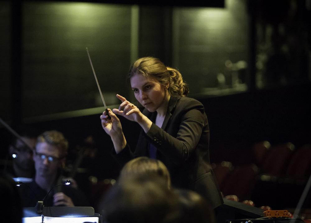 Conductor Lidiya Yankovskaya