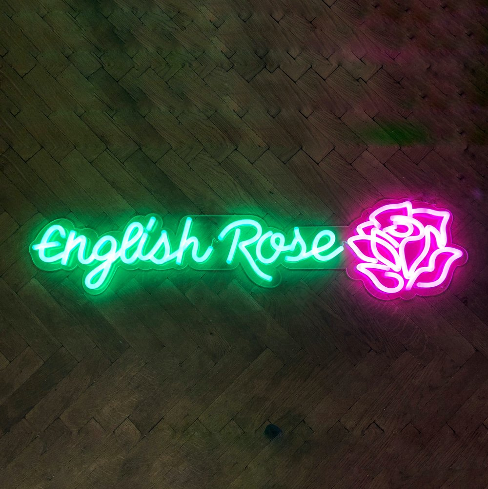 English Rose LED Neon