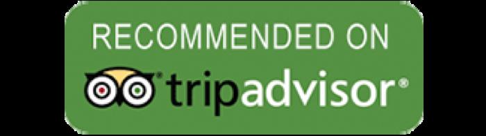 Kết quả hình ảnh cho recommended by tripadvisor badge