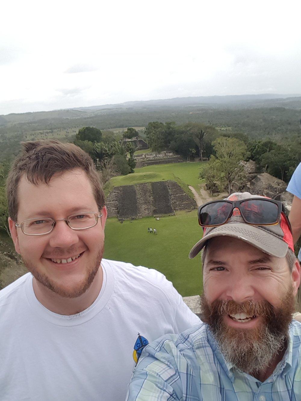 Ben and Fr. David