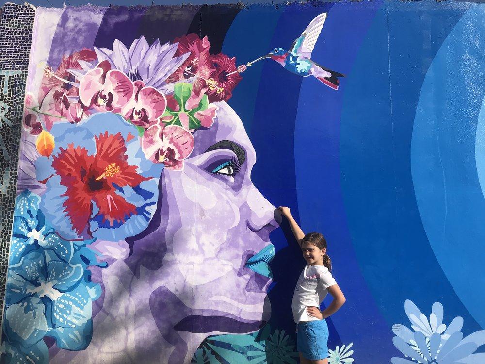 Mural in San Ignacio