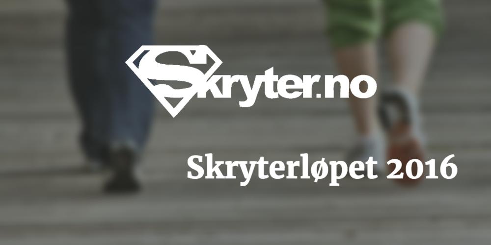 Påmelding til Skryterløpet 2016