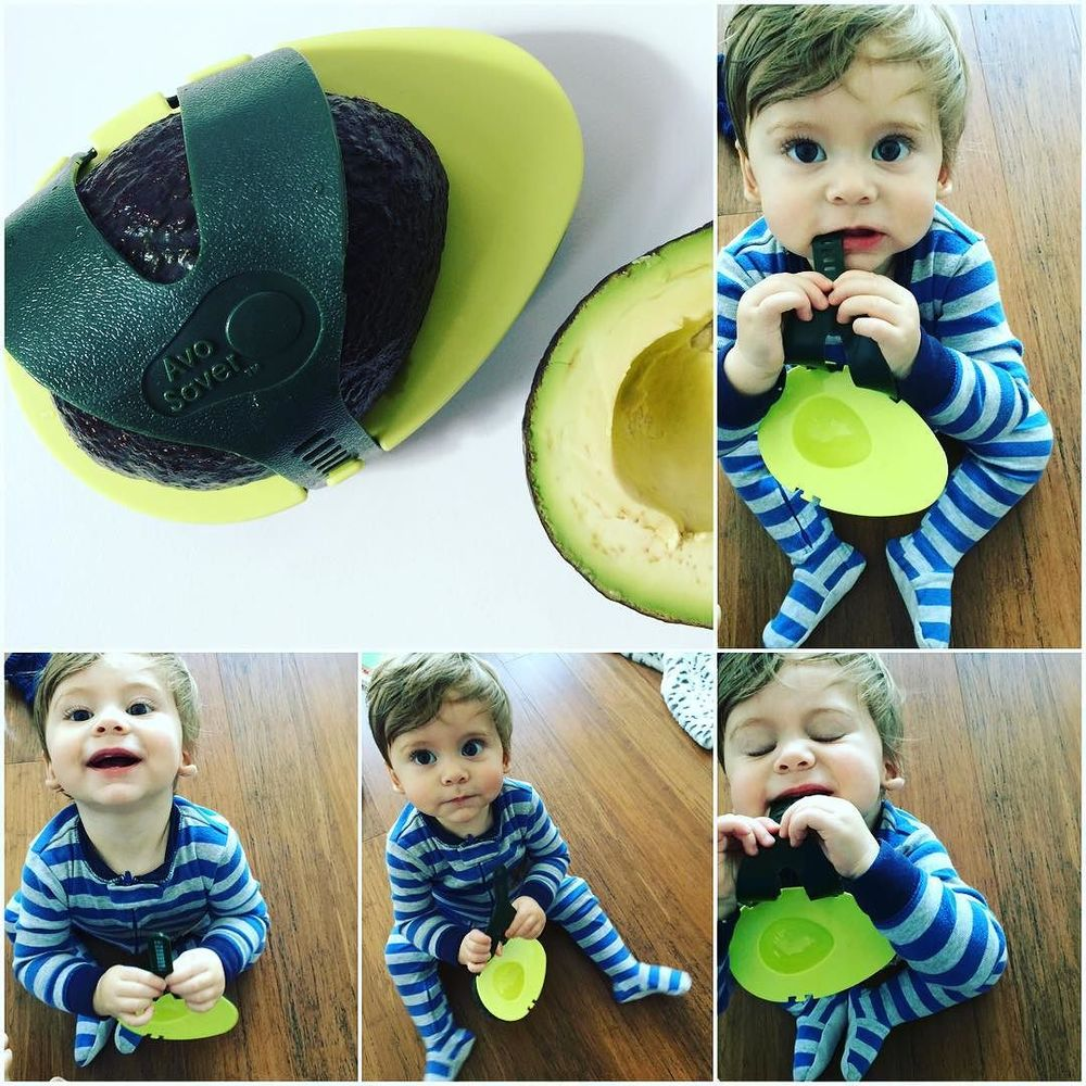 Want to keep your #avocado fresh? Get the #avosaver. Such a cool little tool. And also a great #teething toy :) #keepingitfresh #lazynutritionist #lazynutrition #bushwick #bushwicknutrition  http://ift.tt/1PxX745