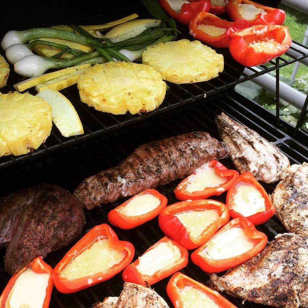 I love #BBQ season. It's a time to enjoy great food and amazing company. Try to #marinate #meats with various #spices- it's not only delicious, but healthier (less harmful byproducts once cooked. #bbqseason #lazynutrition #lazynutritionist #bushwick #bushwicknutrition