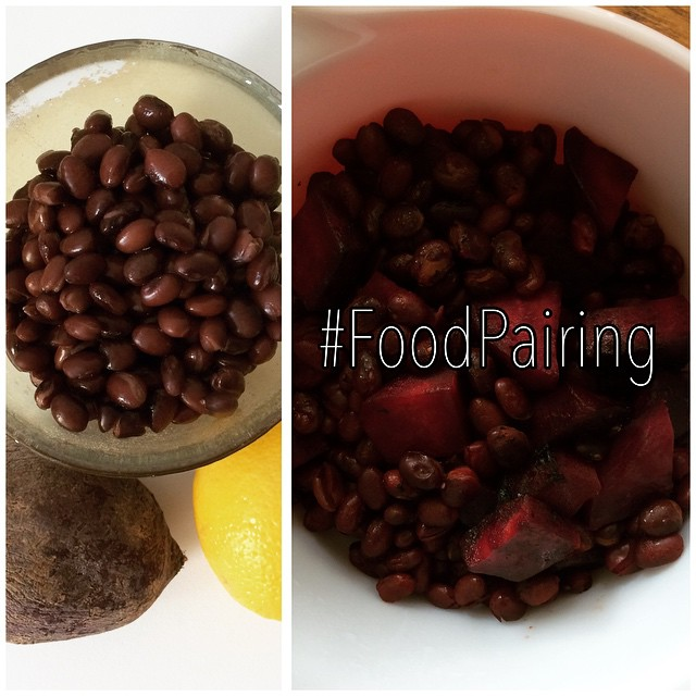 #FoodPairing awesomeness: #BlackBeans are a great source of #fiber, #protein, and plant-based #iron (as other #beans, lentils, and dark leafy greens). When combined with #vitaminC rich-foods (lemon, lime, citrus, peppers, etc) you can absorb the veggie iron much better. That's proper food pairing :)  To Cook: Sauté beets in lemon juice, olive oil, and a little water until tender. Add a can of black beans and heat for a few minutes. Remember to drain and rinse the beans first.   I don't necessarily love #beets (they stain everything and are a pain in the butt to cook!) but I make it a point to eat them since they have anti-inflammatory and blood building benefits. My #oncology patients would always eat more beets to improve their #hemoglobin. It works!   #bushwick #bushwicknutrition #lazynutrition #lazynutritionist