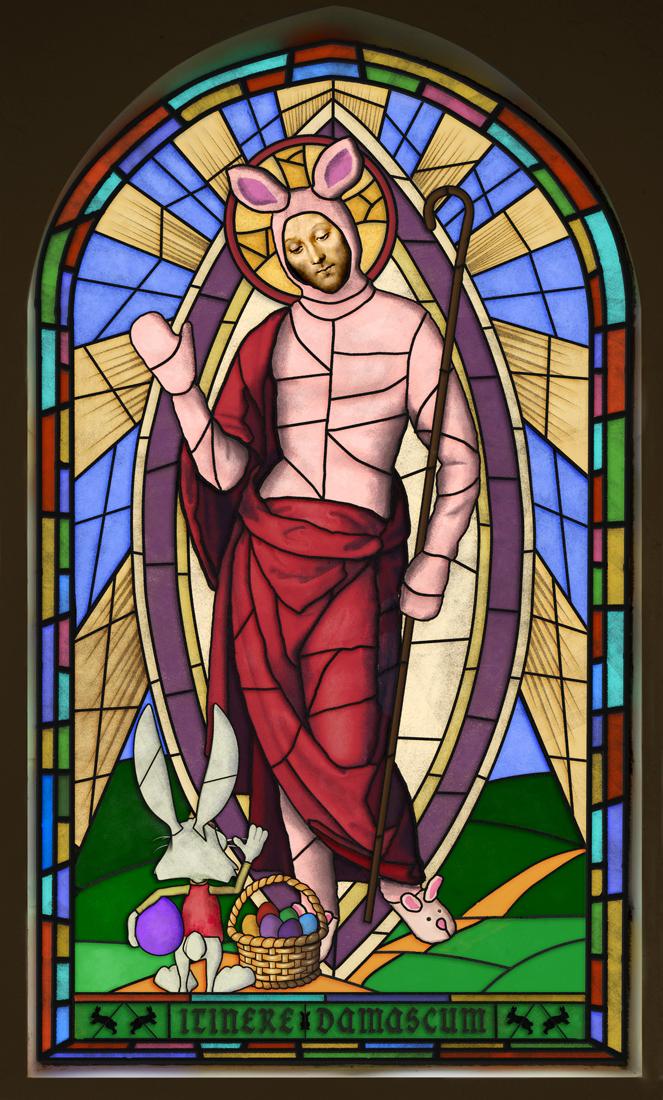 how the easter bunny got religion.jpg