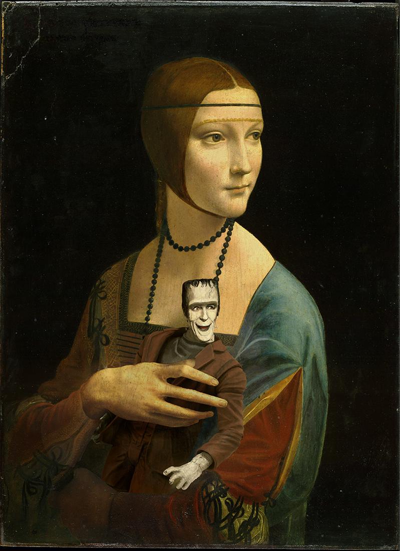 Lady With Herman II