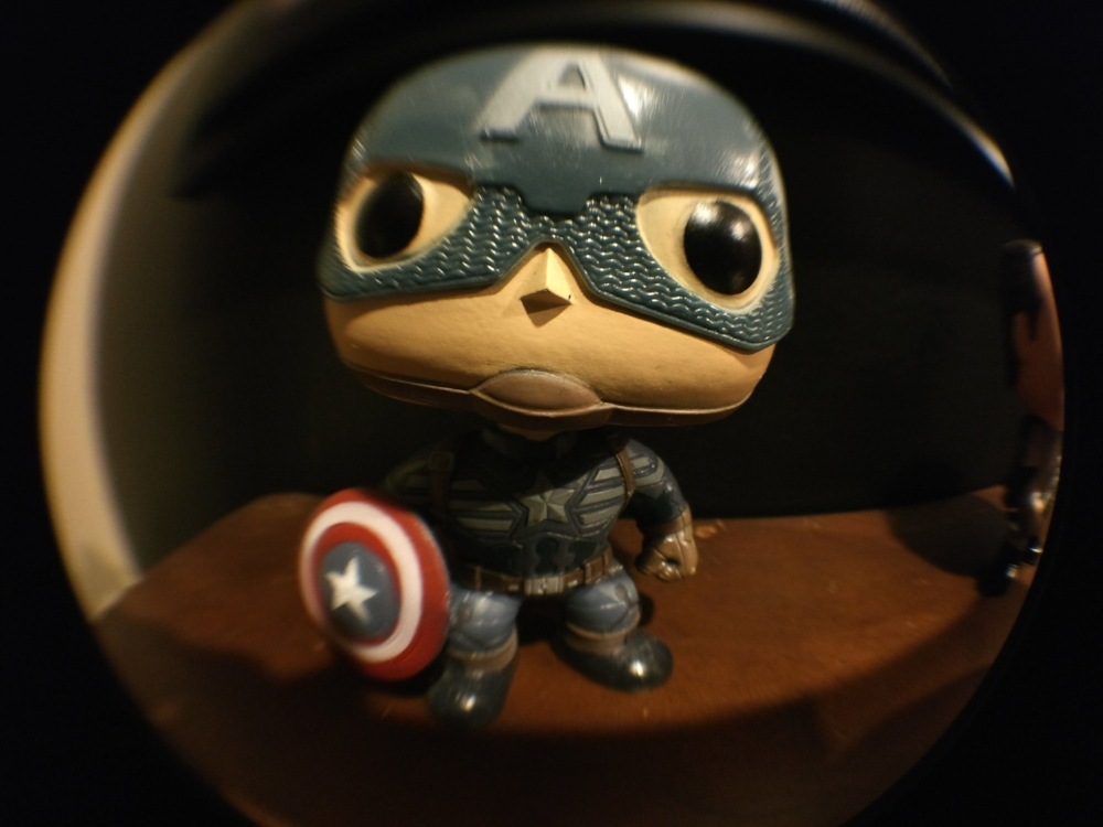 Lookin' good Cap! Fisheye shot with the OnePlus 3
