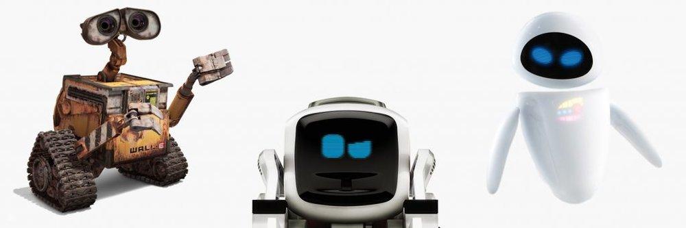 WALL-E -- Cozmo -- EVE