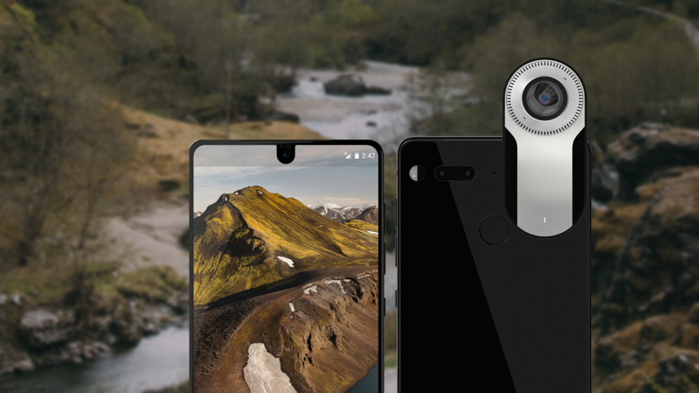 Essential PH-1 with 360 Camera. Image: Telus.com