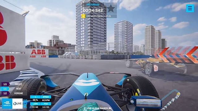Formula E will be launching a virtual racing game that allows players to race against actual Formula E drivers on actual Formula E race circuits, in real time! #FormulaE #Formula1 #CanadianGP #gaming  Head to GadgetSyrup.com to learn more!