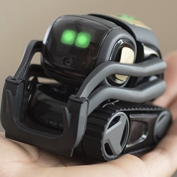 "Anki has announced what they have referred to as ""an older brother"" to Cozmo. His name is Vector and based on my early impressions of him, he is going to be great!  Vector, unlike little brother Cozmo, has that ""always-on"" functionality and will be able to zip around on his own. No precious phone WiFi connections need to be sacrificed. Vector also has upgraded internals making him more powerful than before, which should also lead to improved battery life.  Link in profile to learn more.  #anki #cozmo #vector #ai #robotics #robots #smartassistant #skynet"