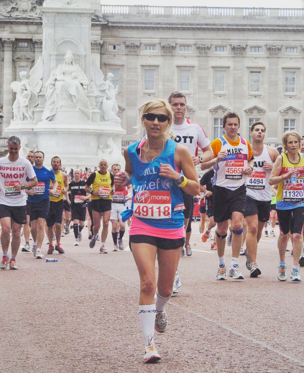 The 2012 London Marathon. I was just about to finish after passing Buckingham Palace!