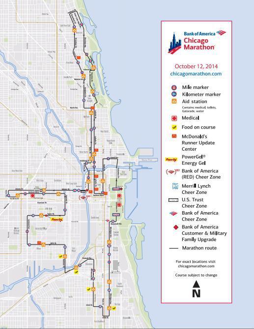 Chicago Marathon Travel Run Repeat