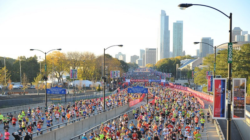 Photo: Bank of America Chicago Marathon. Source