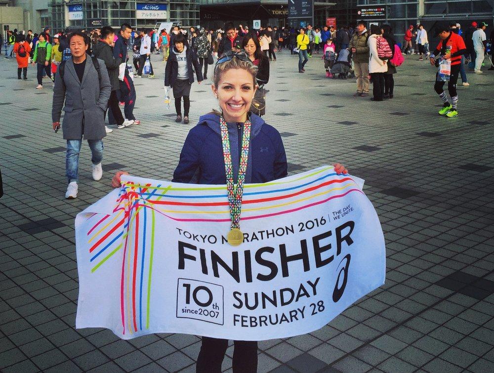 Tokyo Marathon finish.JPG
