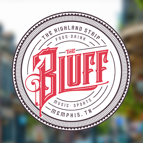 The Bluff Logo - Highland Strip