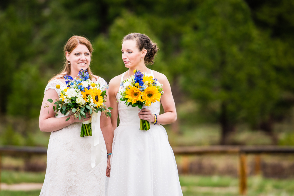 Fort Collins gay wedding photographed by JMGant Photography