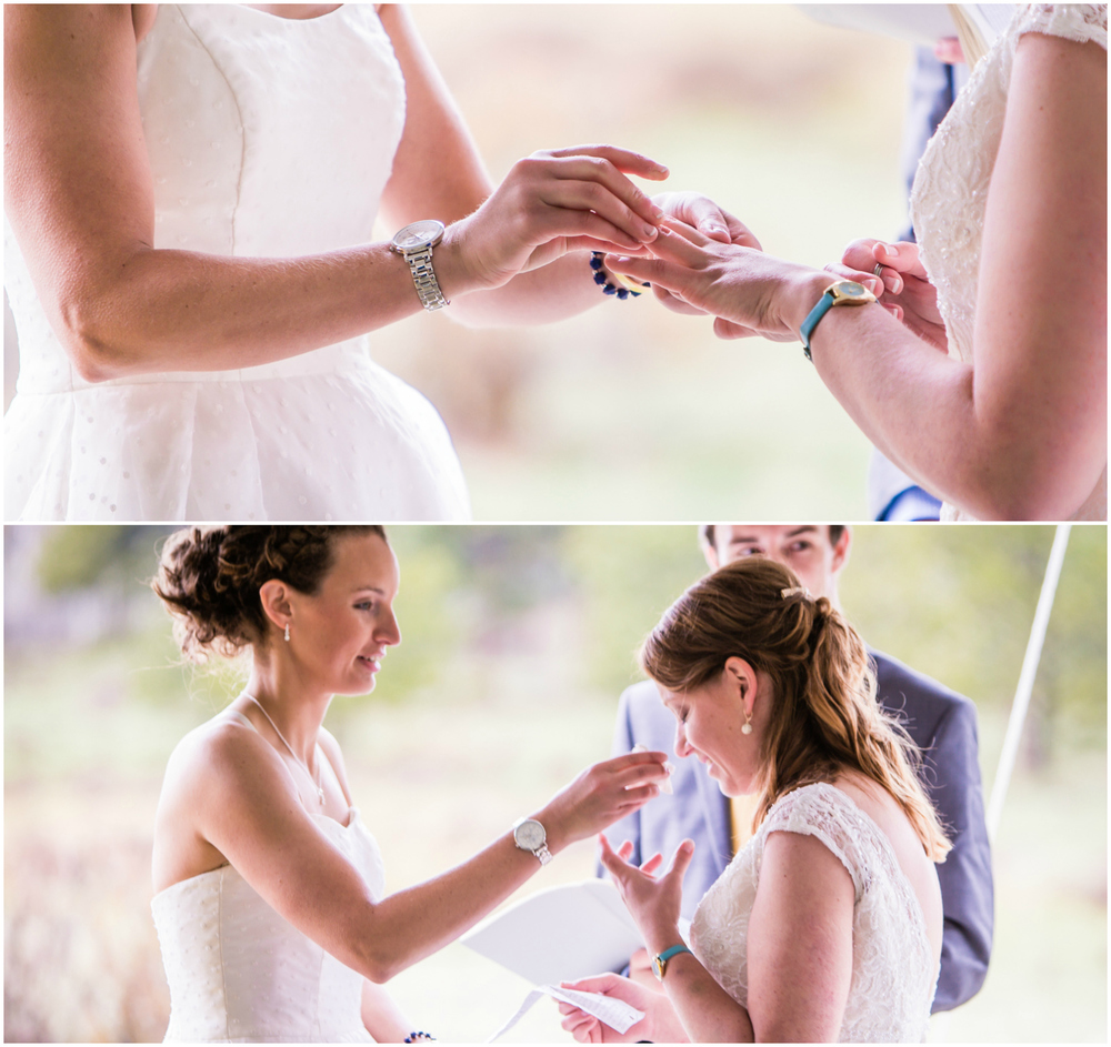 Beautiful, gay wedding in Fort Collins Colorado. Photographed by JMGant Photography
