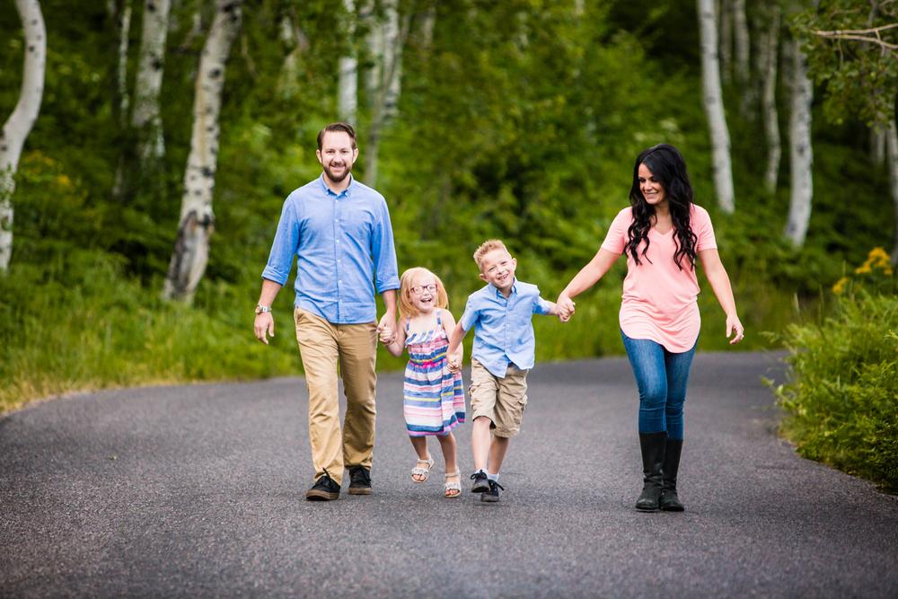 Utah alpine loop family portraits. www.jmgantphotography.com