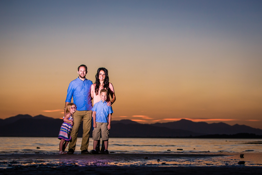 Utah Lake family portraits.  ww.jmgantphotography.com