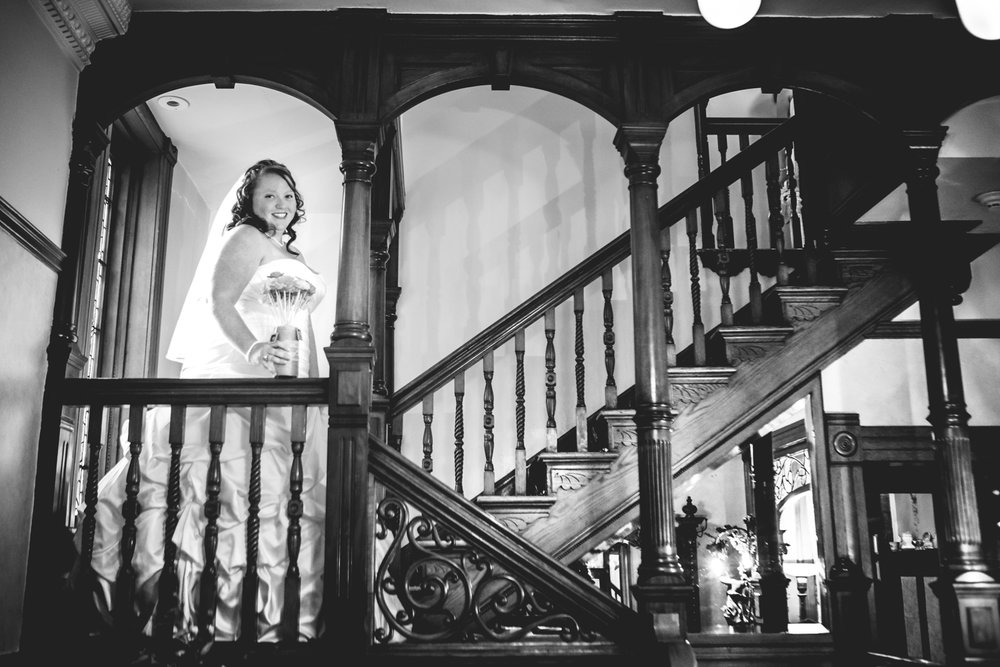Callahan House Wedding. Photographed by JMGant Photography.
