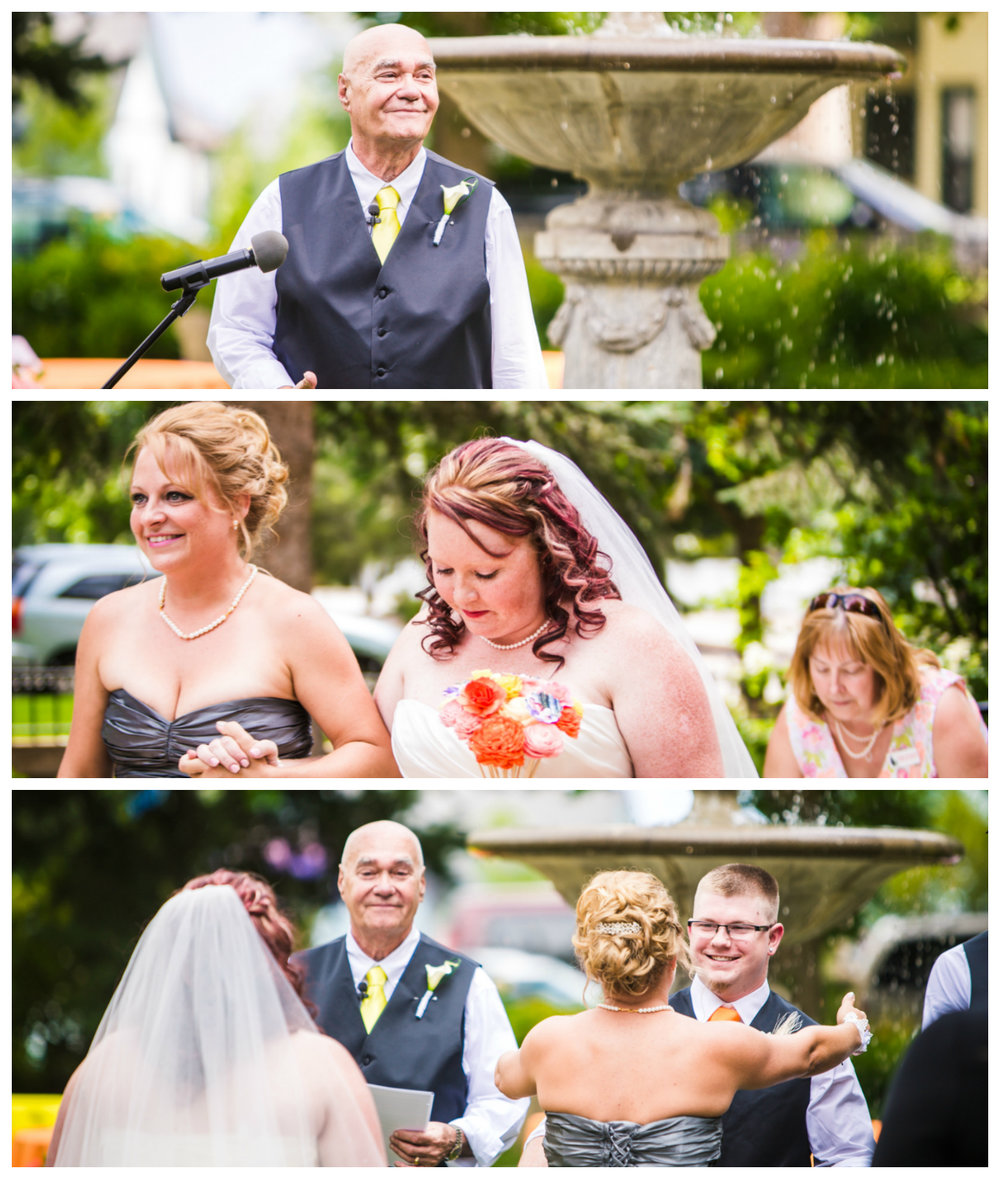 Callahan House Wedding Photographed by JMGant Photography.