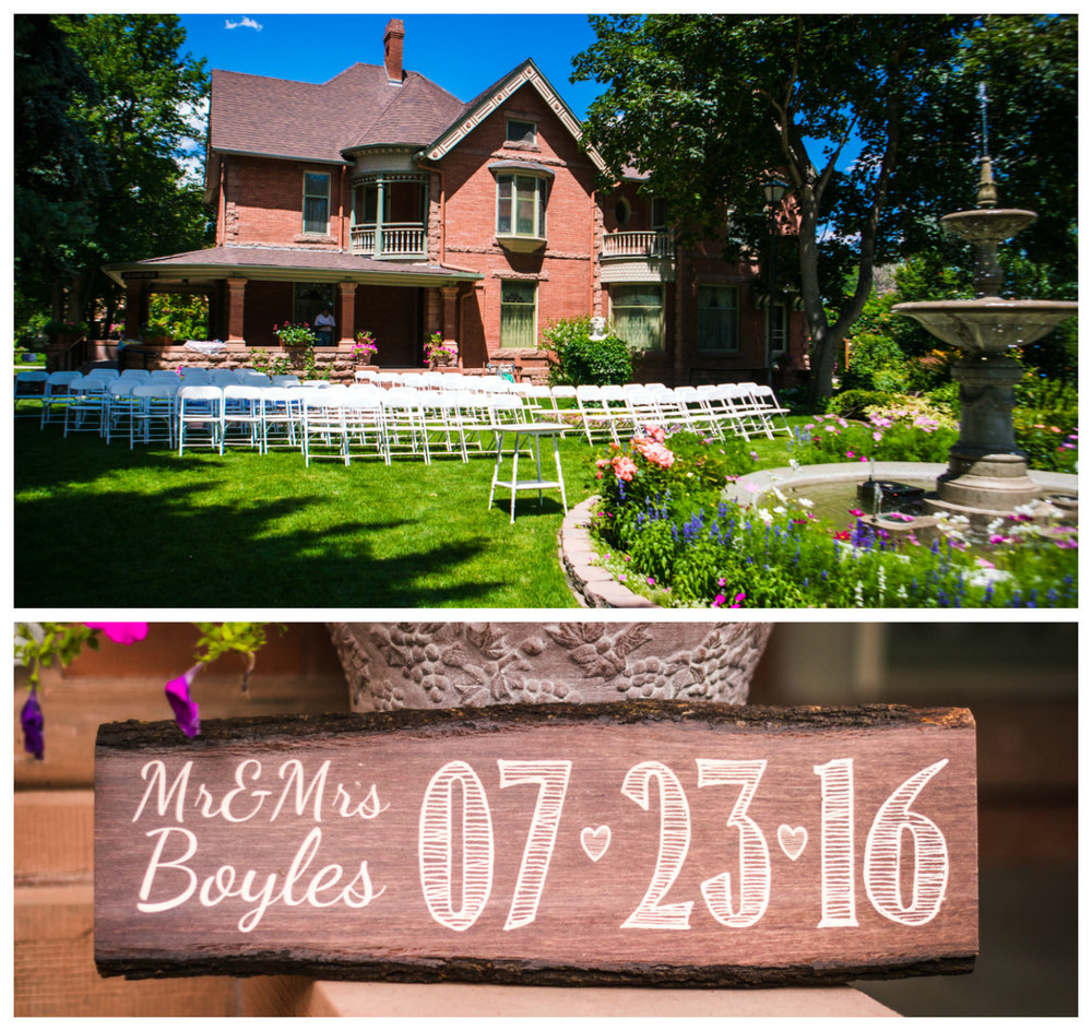Callahan House in Longmont Colorado Wedding. Photographed by JMGant Photography  www.jmgantphotography.com