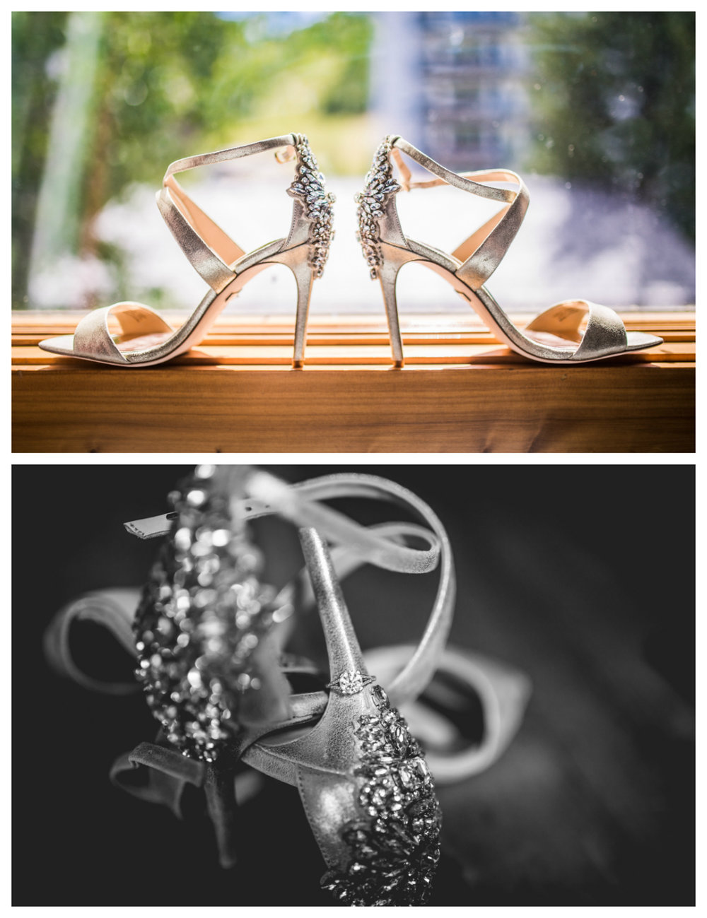 Wedding shoes for a Vail Colorado Wedding photographed by JMGant Photography.