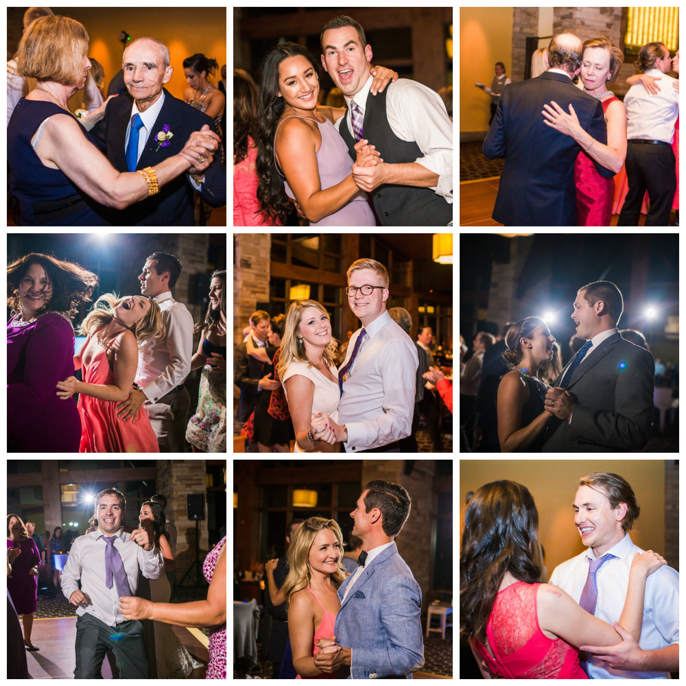 Party time!Vail Colorado Wedding photographed by JMGant Photography.