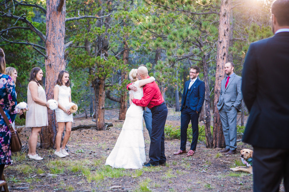 Nederland Colorado Wedding by JMGant Photography.