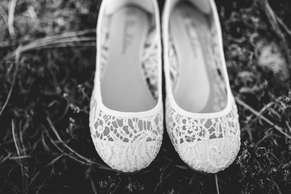 Bridal flats by JMGant Photography.
