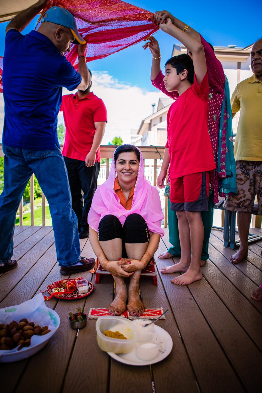 Denver Haldi Ceremony by JMGant Photographed.