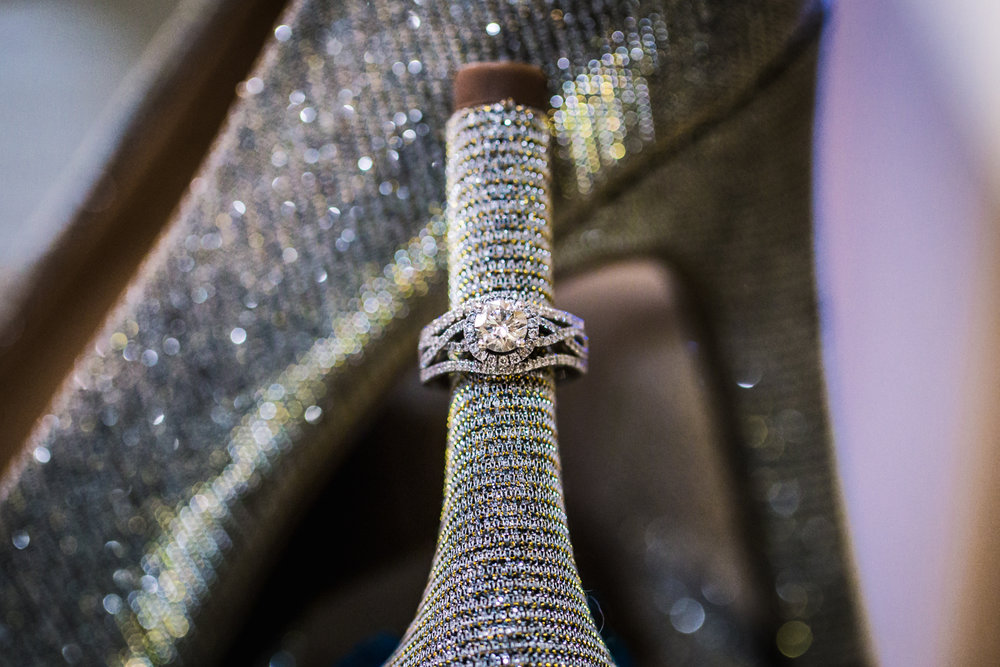 Wedding ring  by JMGant Photography.