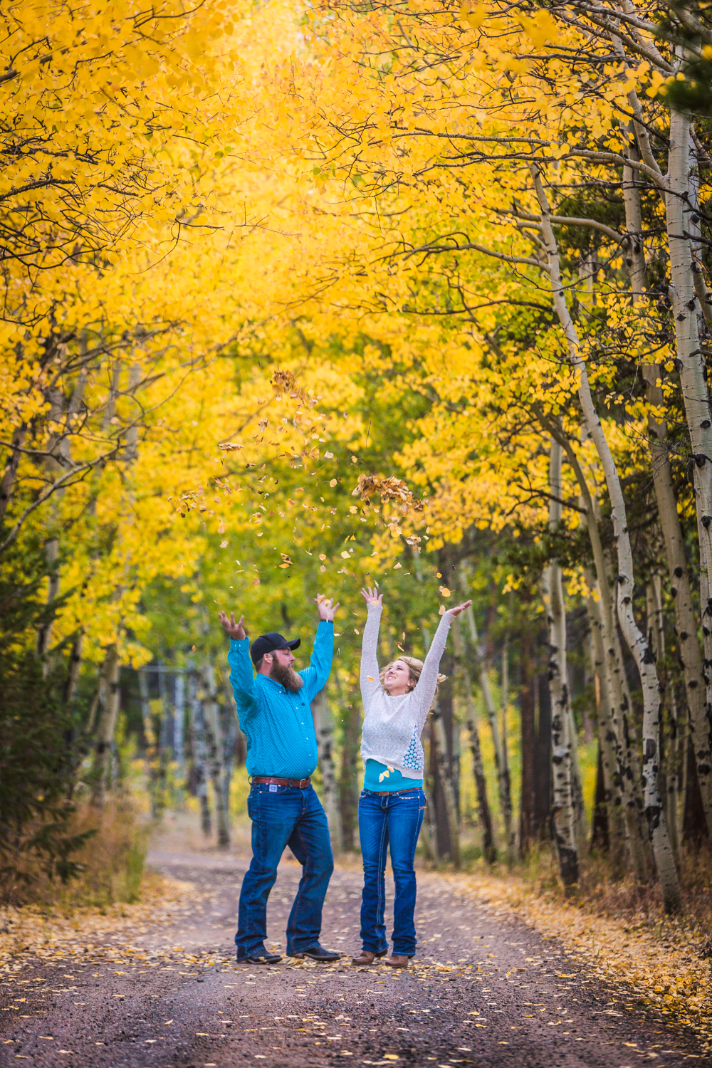 Estes Park Fall Engagement Session by JMGant Photography | Whitney and CJ | Estes Park Wedding Photographer