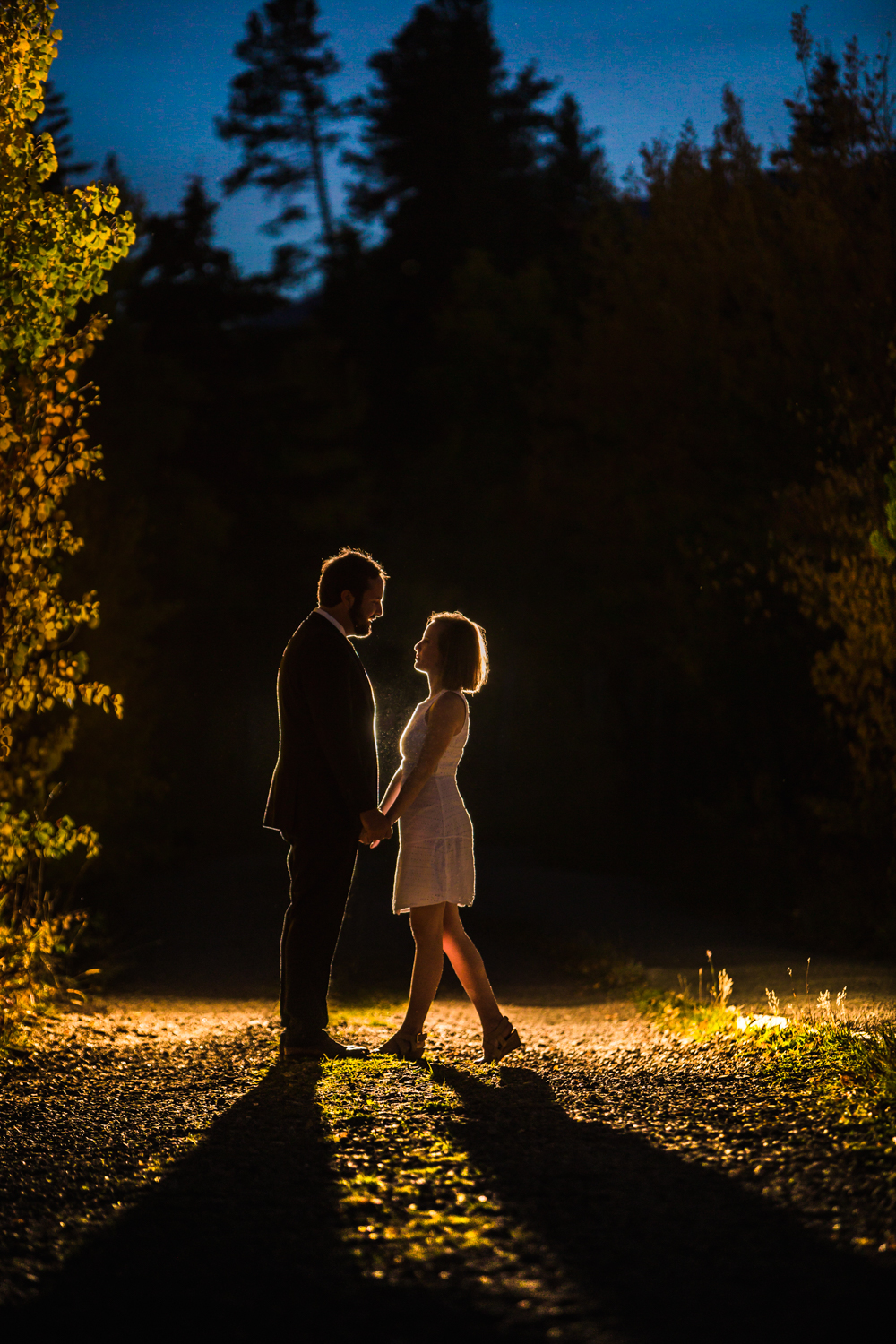 Lily Lake Engagements | Katie and Jake | Estes Park Wedding Photographer