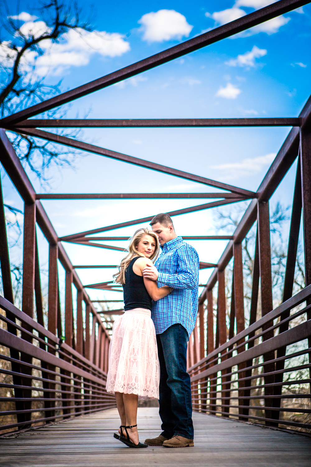Lions Park Engagement Photos by JMGant Photography | Fort Collin | Cody and Morgan