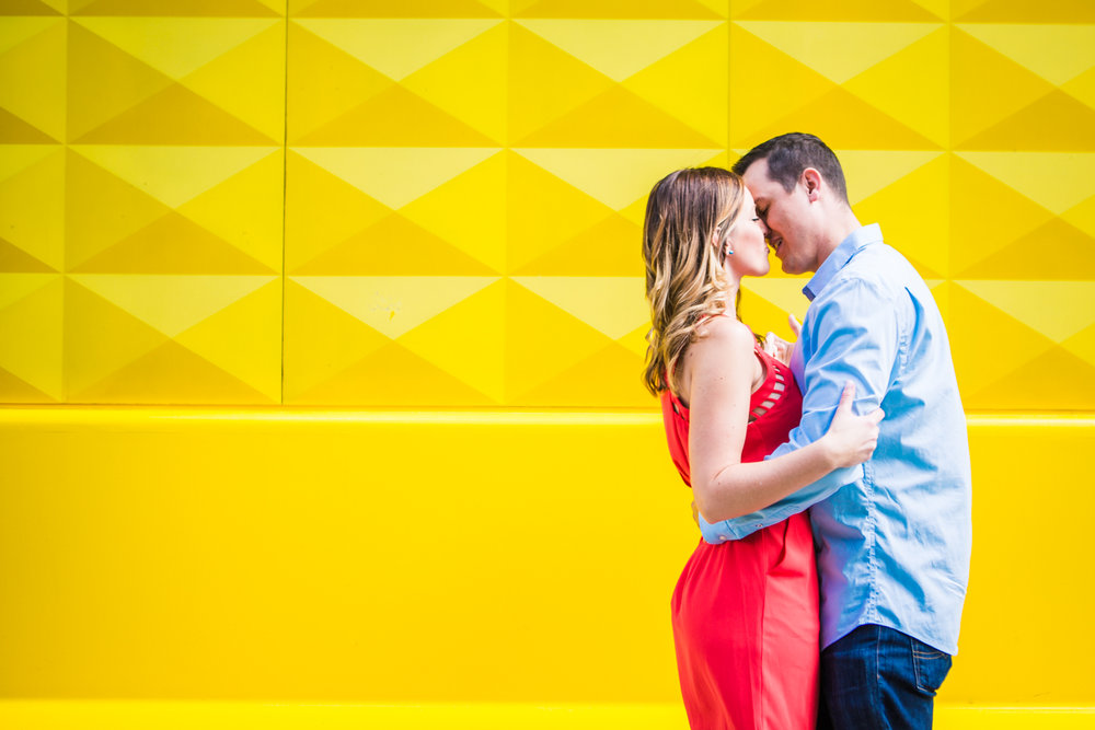 Downtown Denver Engagements by JMGant Photography | Scott and Anita | Denver Wedding Photographer