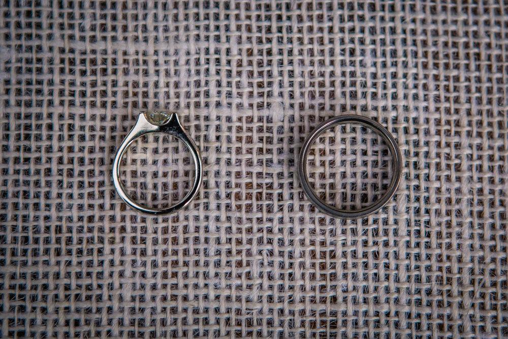 Simple, Custom Wedding Rings