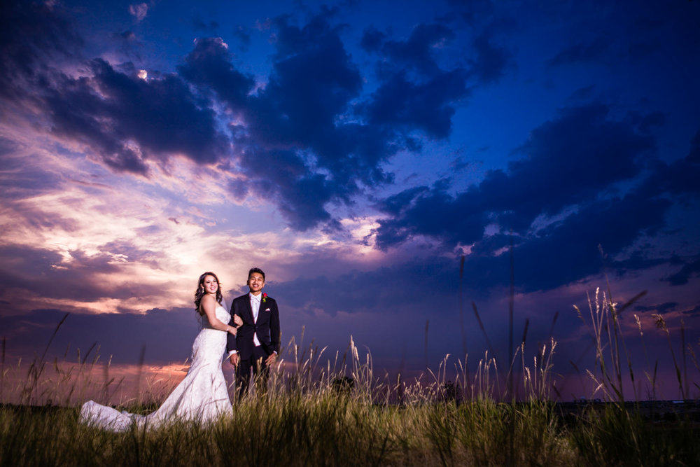 Blackstone Country Club wedding by JMGant Photography. This has got to be one of the most amazing sunsets ever!