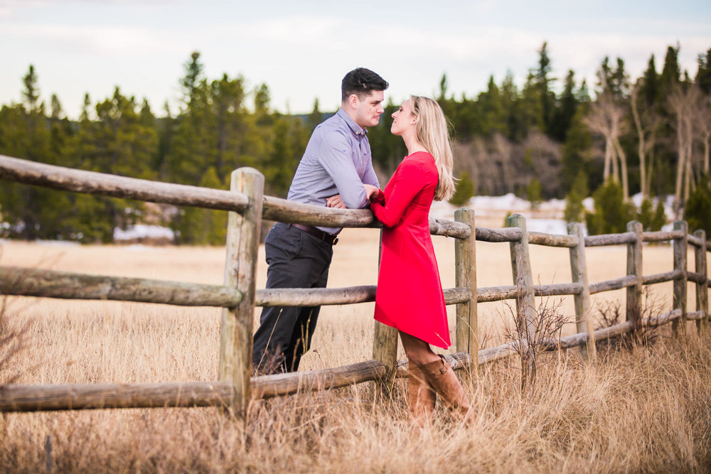 Engagement Pictures on Highway 7