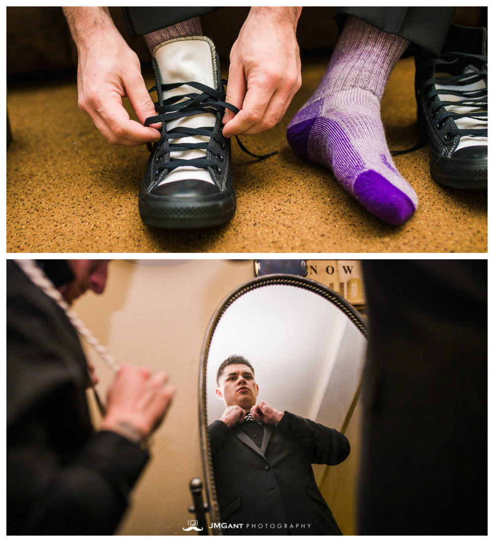 Estes Park Wedding - Groom getting ready - Photographed by JMGant Photography.jpg