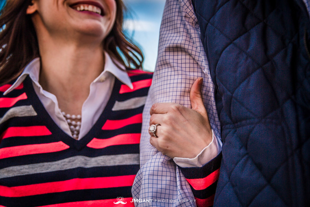 Horsetooth Reservoir engagement shoot in Fort Collins, photographed by JMGant Photography.