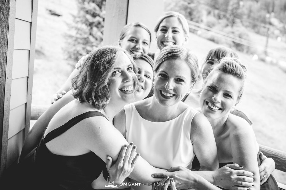 Winter Park Colorado Wedding photographed by JMGant Photography.