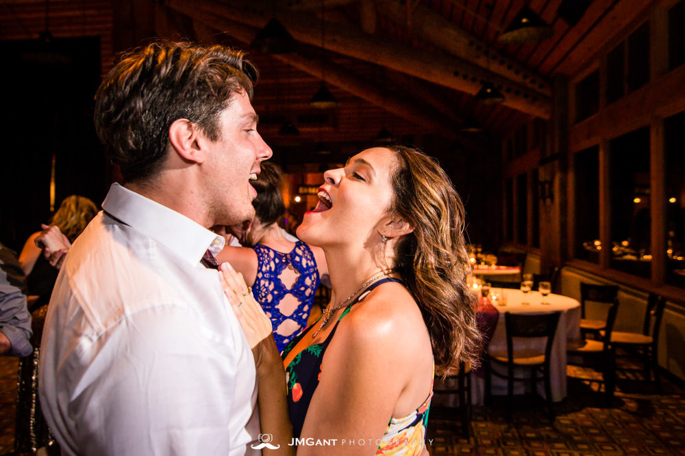 Lodge at Sunspot Wedding photographed by JMGant Photography.