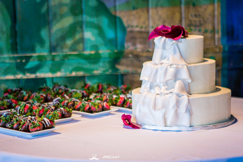 Fun Winter Park, mountain wedding at the Lodge at Sunspot, photographed by JMGant Photography