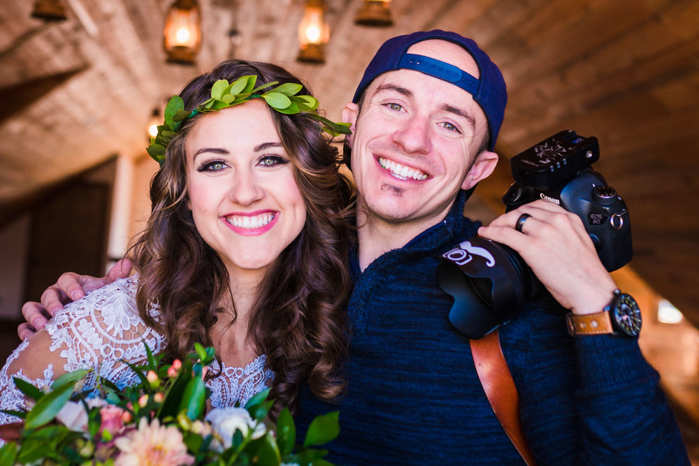 As a wedding planner I have worked with a ton of photographers. Jared is hands down one of the BEST! He is everything you need in a photographer and MORE! - Briana Z of Glow Events