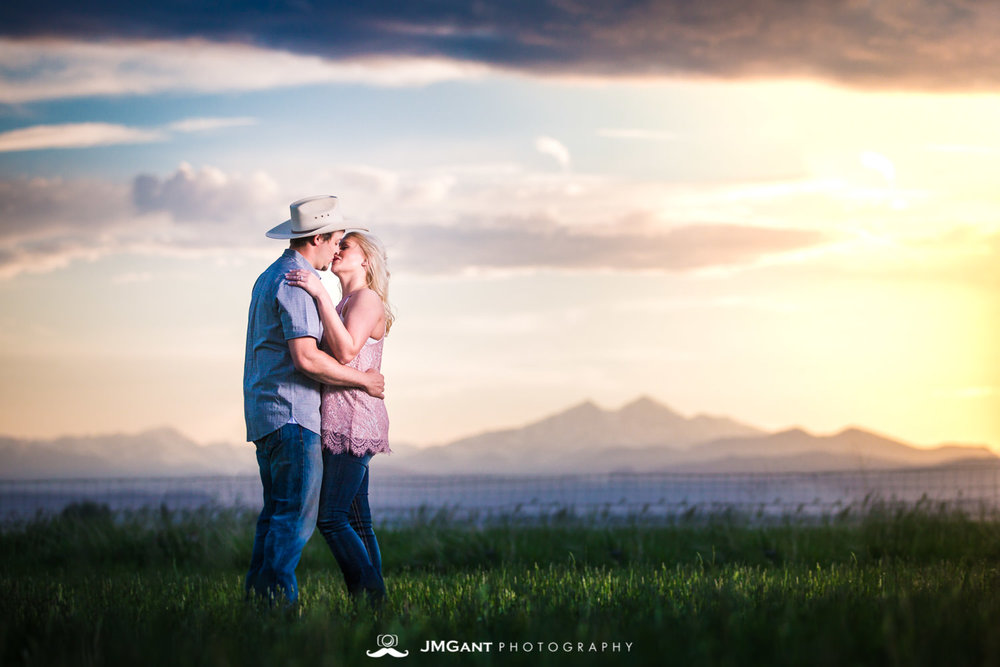 Country Engagement Session By JMGant Photography | Allyson and Jon | Berthoud Wedding Photographer