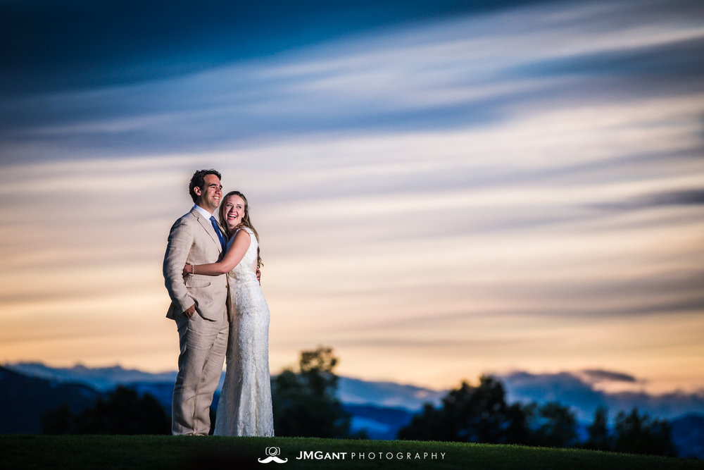Beautiful Jewish wedding at Arrowhead Golf Club