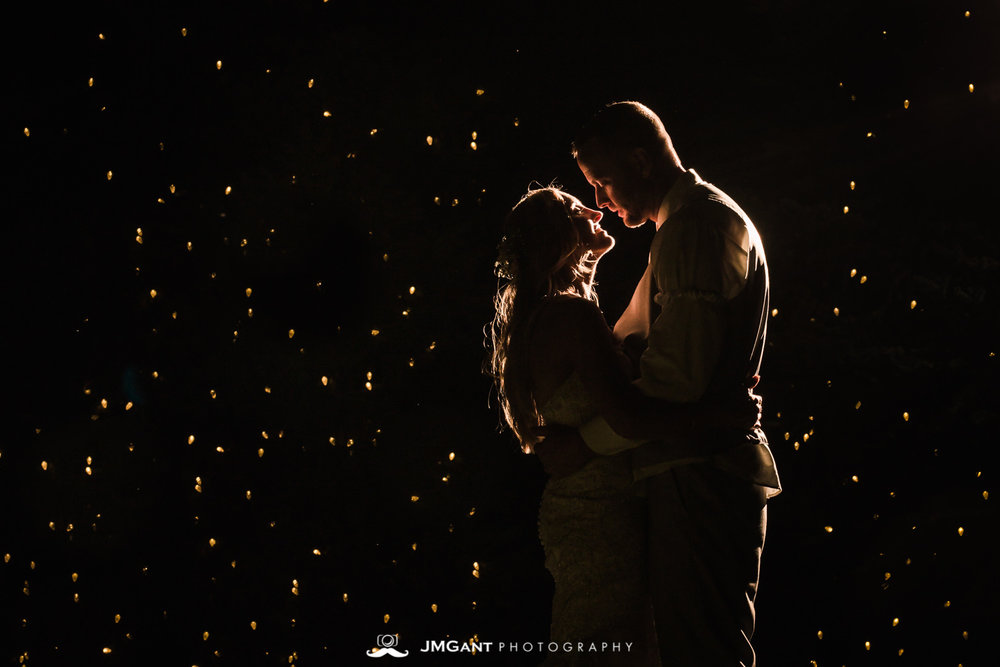 Platte River Fort Wedding | Dancing in the night | Greeley Colorado wedding photographer | © JMGant Photography | http://www.jmgantphotography.com/